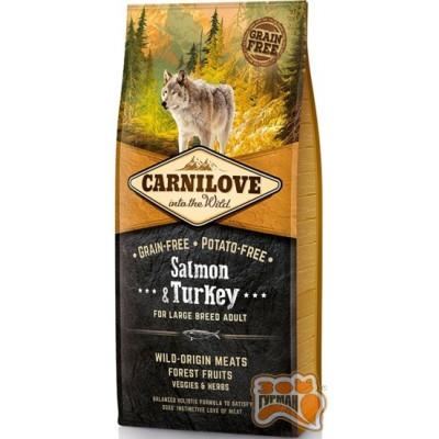 купити Carnilove Adult Large Salmon & Turkey с лососем и индейкой для взрослых собак крупных пород в Одеси