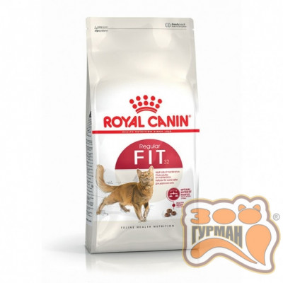 купити Royal Canin FIT-32 для кішок з нормальною активністю, які бувають на вулиці в Одеси