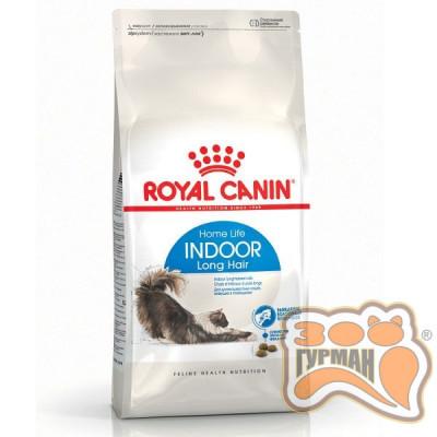 Royal Canin INDOOR LONGHAIR для длинношерстных кошек