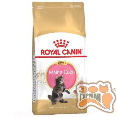 купити Royal Canin Maine Coon Kitten для кошенят породи мейн-кун віком до 15 місяців в Одеси