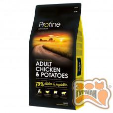 Profine Adult Chicken курица супер-премиум корм для собак