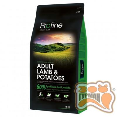 купити Profine Adult Lamb & Potatoes ягненок корм для собак в Одеси