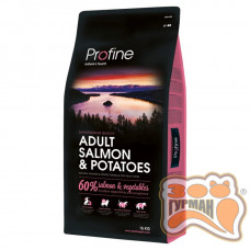 Profine Adult Salmon & Potatoes лосось, гипоалергенный корм для собак