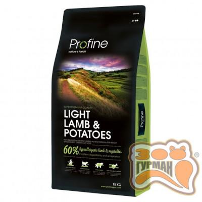 купити Profine Light Lamb Potatoes, корм для оптимизации веса в Одеси