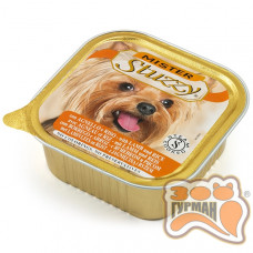 MISTER STUZZY Dog Lamb Rice МИСТЕР ШТУЗИ ЯГНЕНОК РИС корм для собак, паштет, 150г