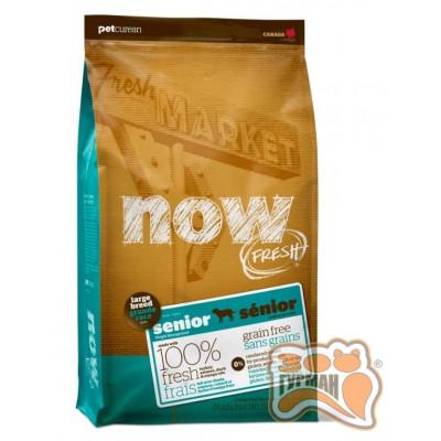 купити NOW! Senior Large Breed Recipe Grain Free Контроль веса - беззерновой корм для собак крупных пород в Одеси