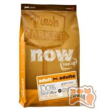 NOW! Natural holistic Fresh Adult Recipe Grain Free беззерновой для взрослых собак с индейкой, уткой и лососем