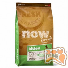 NOW FRESH Grain Free Kitten Recipe Беззерновой корм для котят с индейкой, уткой и лососем