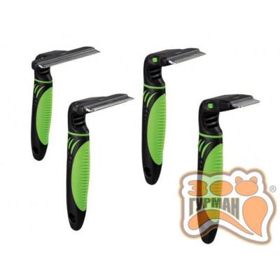 купити Trixie 24187 Фурминатор для прореживания подшерстка с экстра-острым лезвием (11*15см) в Одеси