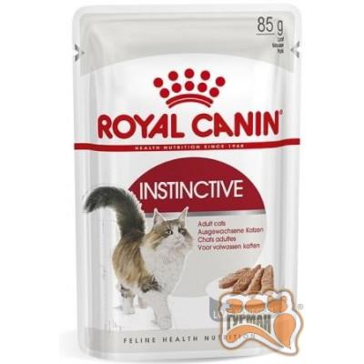 Royal Canin Instinctive корм для кошек старше 1 года паштет