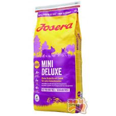 Josera MiniDeluxe беззерновой корм с ягненком для взрослых собак мелких пород