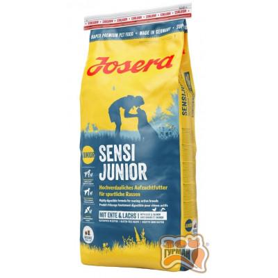 купити Josera SensiJunior сухой корм для щенков возрастом старше 3 недель и взрослых спортивных собак средних и крупных пород в Одеси