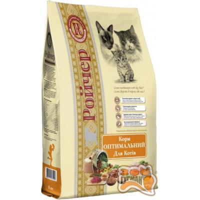 Ройчер Оптимальный сухой корм для кошек 6 кг