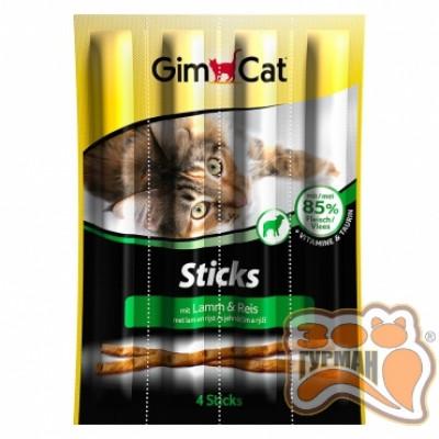 купити Gimpet Sticks Лакомые палочки с ягненком и птицей для кошек 4шт в Одеси