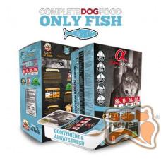 Alpha Spirit Semi-moist Only Fish полувлажный беззерновой корм для собак (только рыба), 210 г