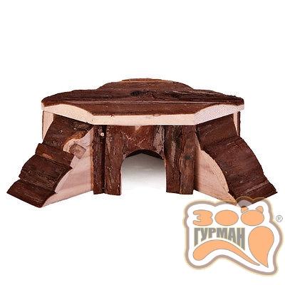 купити TRIXIE Дом деревянный для грызунов Thordis, 19*19*7,5см в Одеси