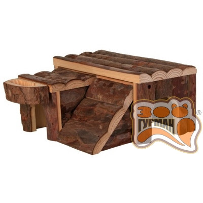 купити TRIXIE  деревянный домик для грызуна 'Luka' 14*14*7см в Одеси
