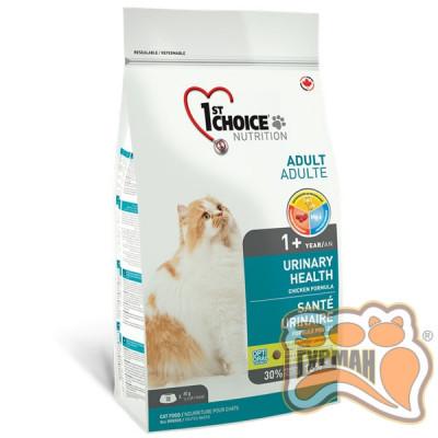 1st Choice Urinary Health ФЕСТ ЧОЙС УРИНАРИ ХЕЛС корм для котов склонных к МКБ (мочекаменная болезнь)