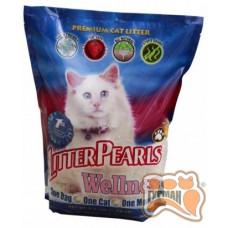 Litter Pearls ВЕЛЛНЕС (Wellness) кварцевый наполнитель для туалетов котов 3,4л