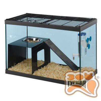 Стеклянная клетка для крыс RATATOUT 60 59,5x30,5x39,5 см - 65 л