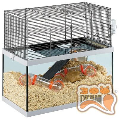 купити Стеклянная клетка для песчанок GABRY 60 60x31,5x52 см в Одеси