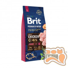 Brit (Брит) Premium JUNIOR L - корм для щенков и молодых собак крупных пород