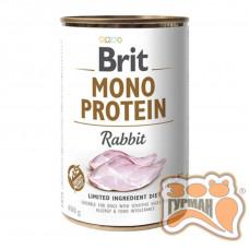 Brit Mono Protein Dog k с кроликом 400 гр