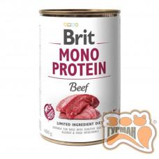 Brit Mono Protein Dog k с говядиной 400 гр