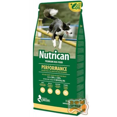 купити Nutrican Performance для дорослих активних собак всіх порід в Одеси