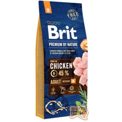 купити Brit Premium ADULT M - корм для взрослых собак средних пород в Одеси
