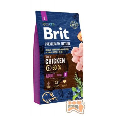 Brit (Брит) Premium ADULT S - корм для взрослых собак мелких пород