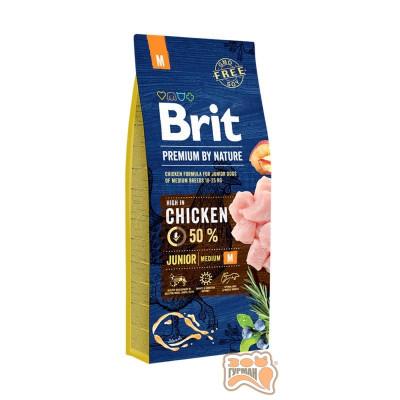 купити Brit (Брит) Premium JUNIOR M - корм для щенков и молодых собак средних пород в Одеси