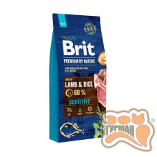 Brit Premium Lamb and Rice SENSITIVE, ягненок и рис