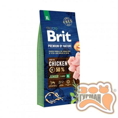 купити Brit (Брит) Premium JUNIOR XL - корм для щенков и молодых собак гигантских пород в Одеси
