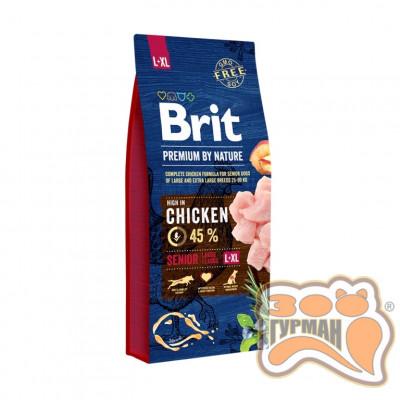 Brit Premium Senior L + XL - корм для пожилых собак крупных пород