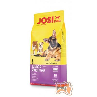 купити JosiDog Junior Sensitive (25/17) для вирощування молодих чутливих собак в Одеси