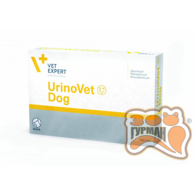 VetExpert UrinoVet (Уриновет) Dog, 30таб, поддержание и восстановление мочевой системы