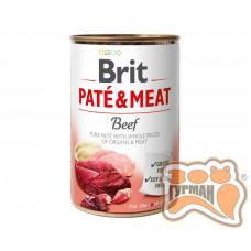 Brit Patе & Meat Beef с говядиной, 400г