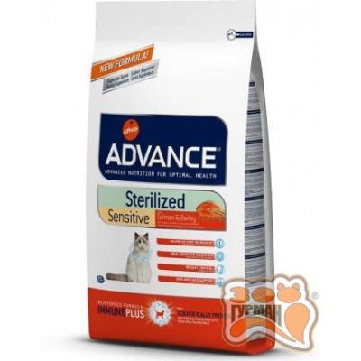купити Advance Cat Sterilized Sensitive Salmon стерилизованные,чувствительное пищеварение на лососе для котов 10 кг в Одеси