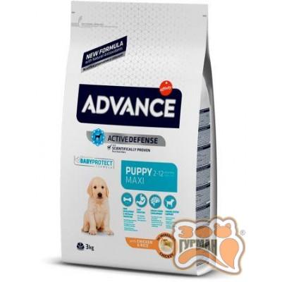 купити Advance Maxi Puppy для щенков крупных пород, 18 кг в Одеси
