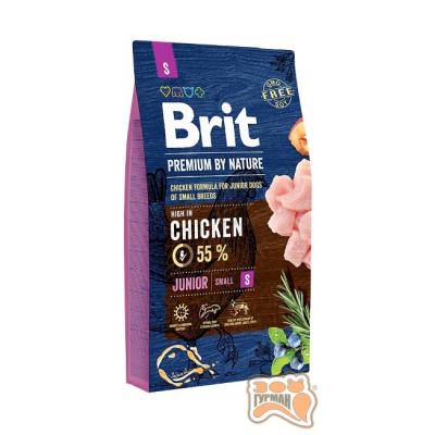 купити Brit Premium JUNIOR S - корм для щенков и молодых собак мелких пород в Одеси
