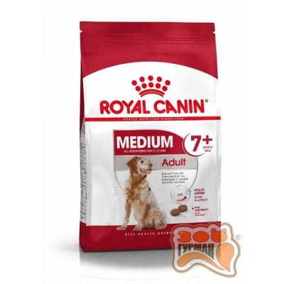 купити Royal Canin Medium Adult +7 для стареющих собак средних размеров в Одеси