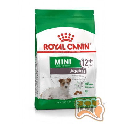 Royal Canin MINI AGEING 12+, СТАРШЕ 12 ЛЕТ