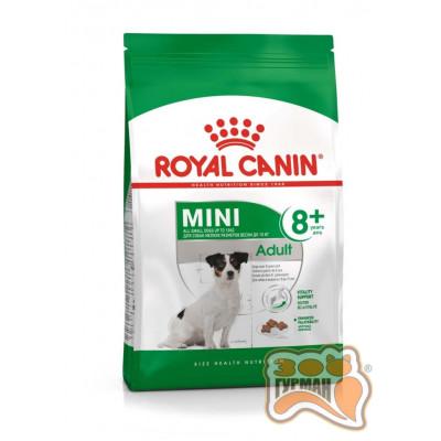 купити Royal Canin MINI ADULT+8 для собак мелких размеров, в возрасте с 8 до 12 лет в Одеси