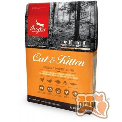 купити ORIJEN CAT&KITTEN корм для кошек всех возрастов и пород в Одеси