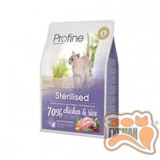 Profine Cat Sterilised Курица с рисом для стерилизованных и кастрированных кошек и котов