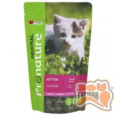 Pronature Original Kitten Chicken c курицей корм для котят