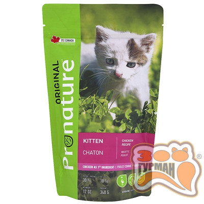 купити Pronature Original Kitten Chicken c курицей корм для котят в Одеси