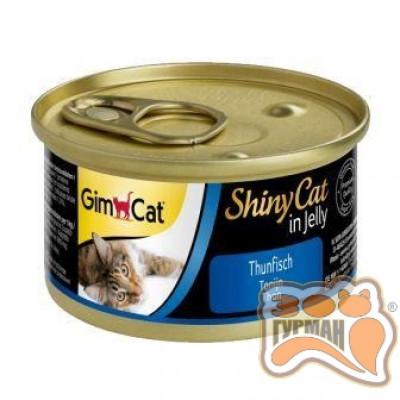 купити Gim Shiny Cat c тунцом, 70 гр в Одеси