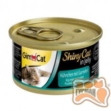 Gim Shiny Cat курица с креветками, 70 гр